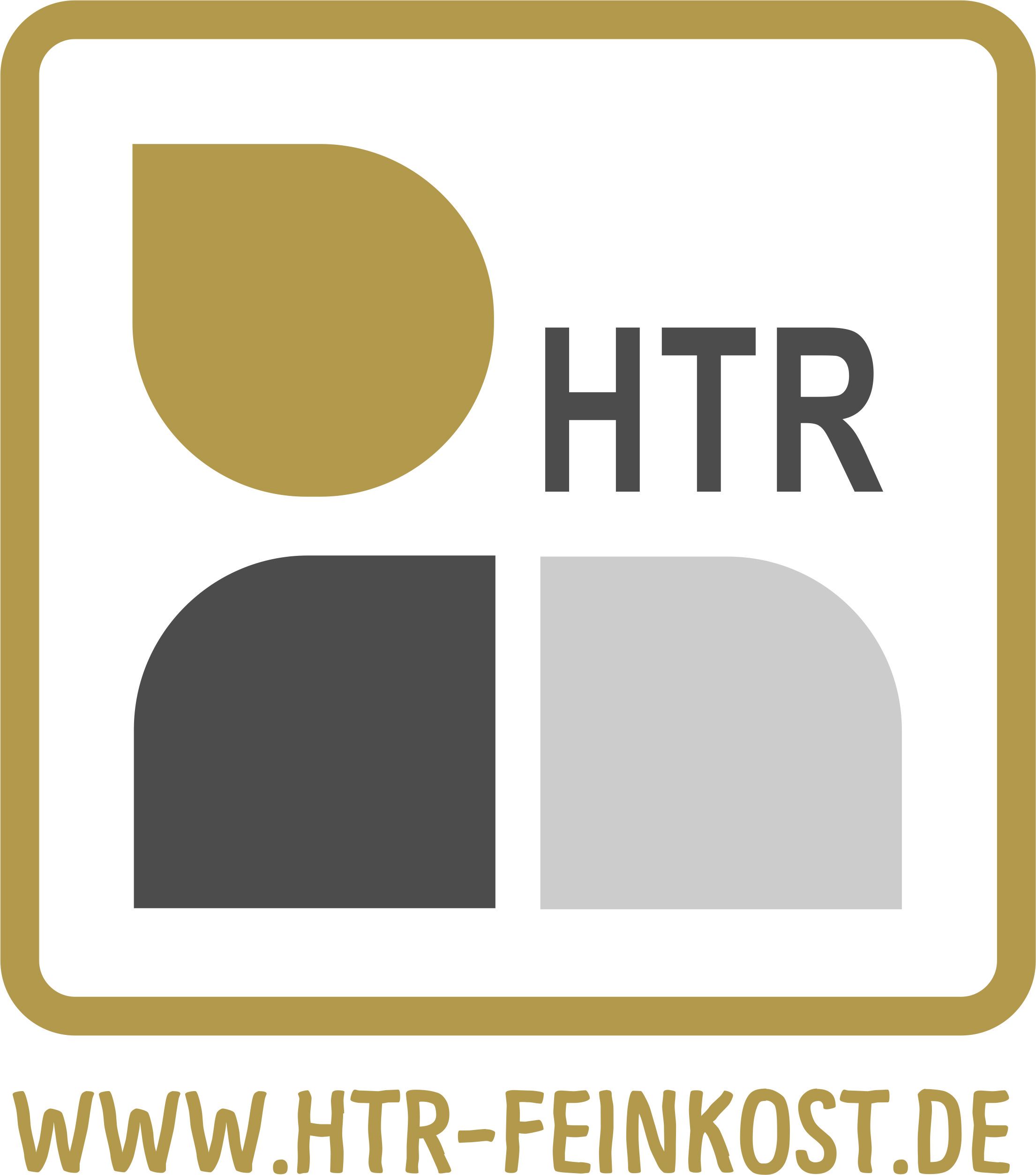 HTR Feinkost Genußladal-Logo